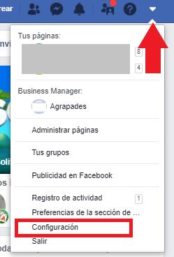 cambiar correo en facebook desde el ordenador