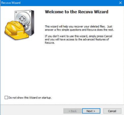 recuperar archivos con recueva