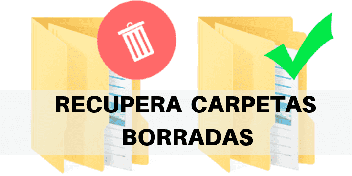 Recupera una carpeta borrada o no guardada de windows con el mejor software gratuitos y sin programas