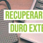 recupera datos y archivos de tu disco duro externo dañado
