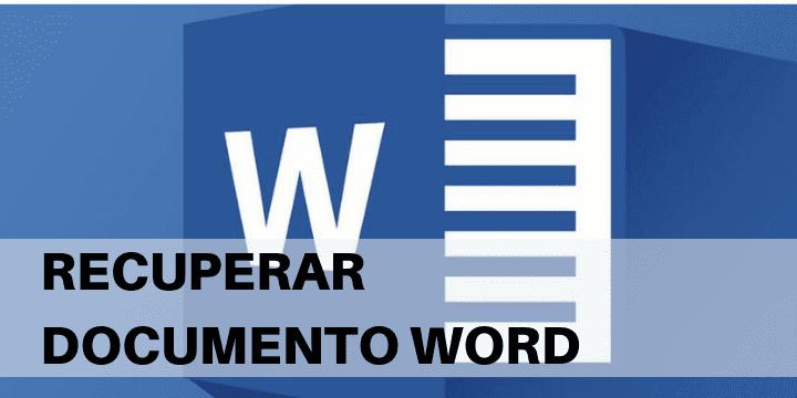 Recupera un archivo word no guardado o borrado de windows con el mejor software gratis y también sin programas